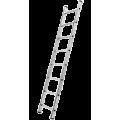 """Лестницы односекционные """"Алюмет"""" 5106"""